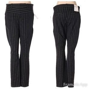 NWT Gap Pinstriped Skinny Ankle Pants SZ 8